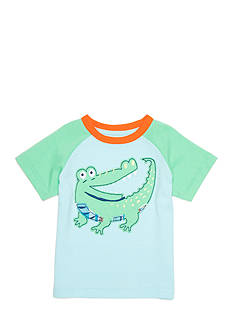 Nursery Rhyme Alligator Applique Tee