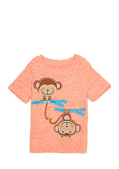 Nursery Rhyme Monkey Applique Tee