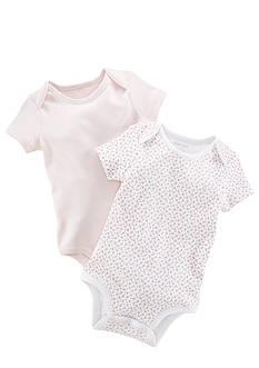 Ralph Lauren Childrenswear Floral Bodysuit Set of 2