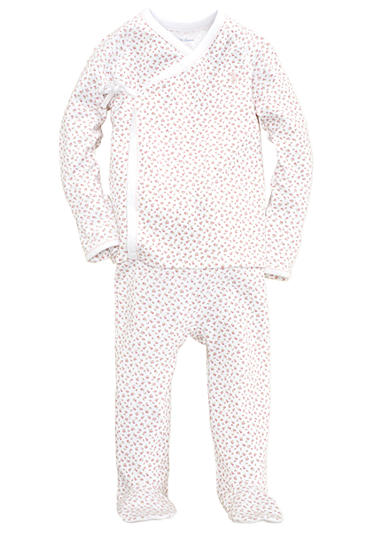 Ralph Lauren Childrenswear 2-Piece Floral Printed Kimono Set