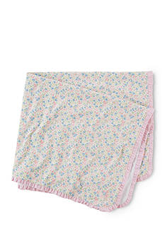 Ralph Lauren Childrenswear Floral Printed Blanket