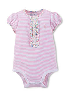 Ralph Lauren Childrenswear Striped Bodysuit