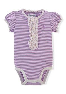 Ralph Lauren Childrenswear Striped Bodysuit