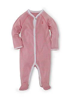 Ralph Lauren Childrenswear Striped Coverall
