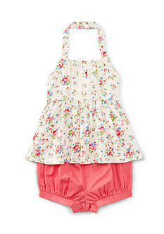 Ralph Lauren Childrenswear Floral Shortset