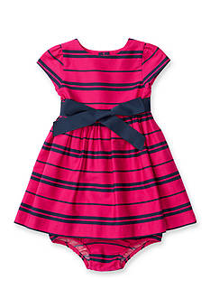 Ralph Lauren Childrenswear Woven Sateen Dress Baby/Infant Girl
