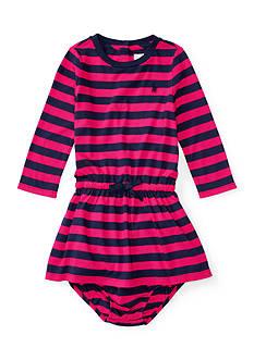 Polo Ralph Lauren Jersey Stripe Dress Baby/Infant Girl