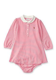 Ralph Lauren Childrenswear Mesh Shirt Dress Baby/Infant Girl