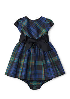 Ralph Lauren Childrenswear Fit & Flare Taffeta Dress