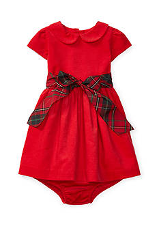 Ralph Lauren Childrenswear Fit & Flare Corduroy Dress