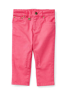 Ralph Lauren Childrenswear Stretch Twill Jodhpur Pant Baby Girls