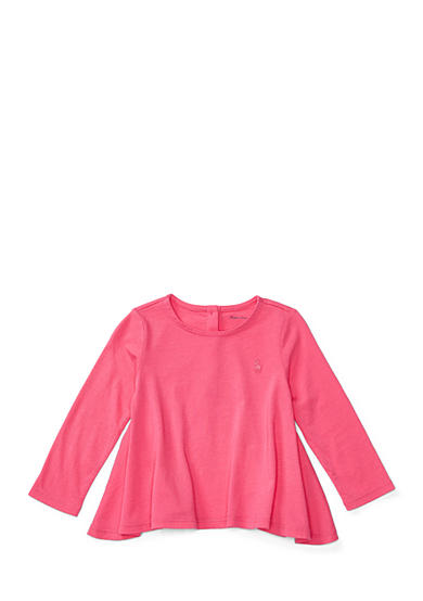 Ralph Lauren Childrenswear Cotton Long-Sleeve Swing Tee