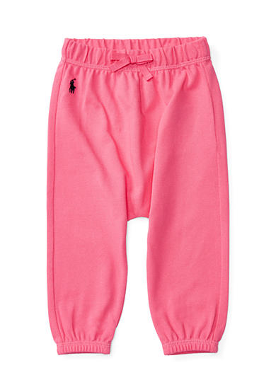 Ralph Lauren Childrenswear Cotton Mesh Pull-On Pant Baby Girl