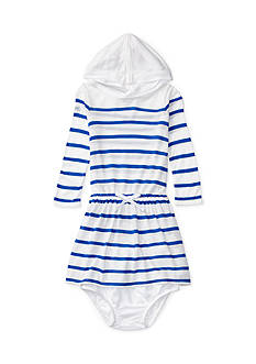Ralph Lauren Childrenswear Hooded Jersey Dress & Bloomer Baby Girls