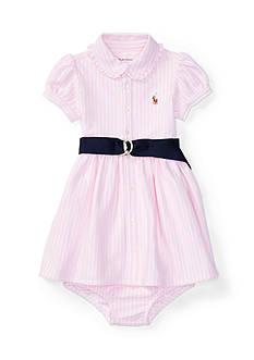 Ralph Lauren Childrenswear Oxford Stripe Dress