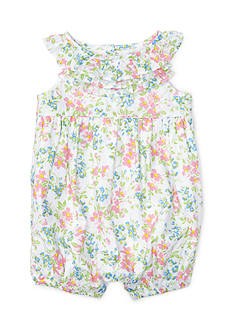 Ralph Lauren Childrenswear Batiste Floral Shortall