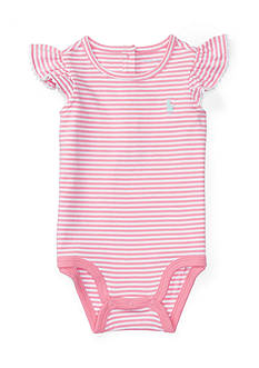 Ralph Lauren Childrenswear Jersey Stripe Bodysuit