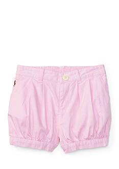 Ralph Lauren Childrenswear Solid Oxford Bloomer
