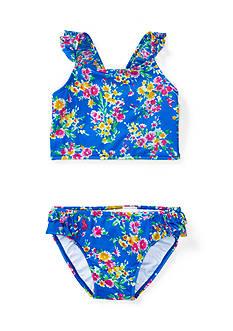Ralph Lauren Childrenswear 2-Piece Floral Swimsuit