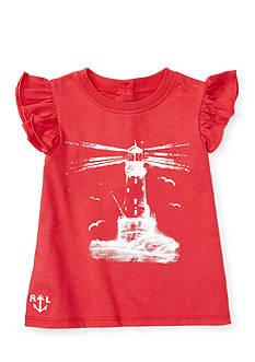 Ralph Lauren Childrenswear Jersey Sailboat T-Shirt
