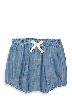 Ralph Lauren Childrenswear Chambray Bloomer