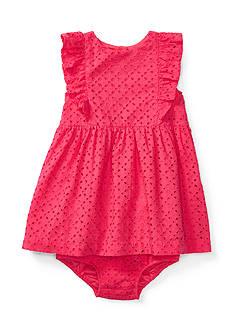 Ralph Lauren Childrenswear Eyelet Dress