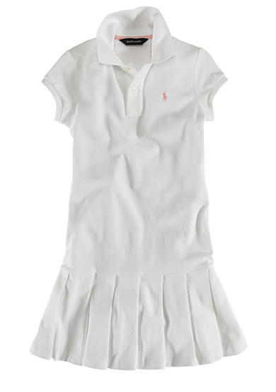 Ralph Lauren Childrenswear Polo Dress - Toddler Girl