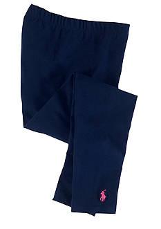 Ralph Lauren Childrenswear Solid Legging Toddler Girl