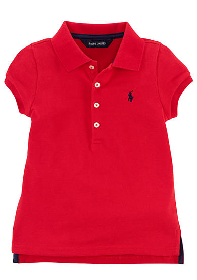 Ralph Lauren Childrenswear Classic Cotton Polo Toddler Girls