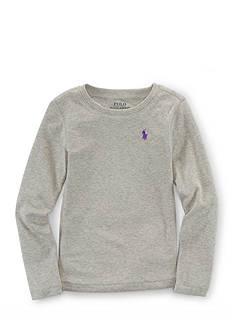 Ralph Lauren Childrenswear Long Sleeve Tee Toddler Girls