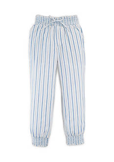 Ralph Lauren Childrenswear Striped Cotton Pants Toddler Girls