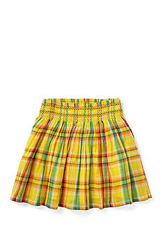 Ralph Lauren Childrenswear Plaid Skirt Toddler Girls