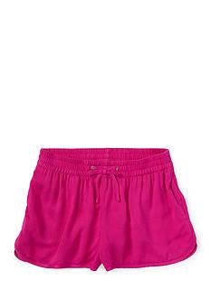 Ralph Lauren Childrenswear Graphic Track Short Toddler Girls