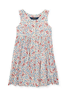 Ralph Lauren Childrenswear Floral Dress Toddler Girl