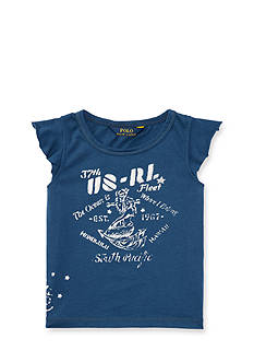 Ralph Lauren Childrenswear Graphic Tee Toddler Girl