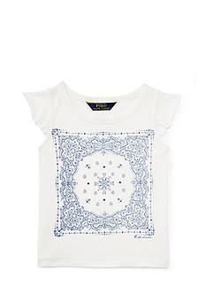 Ralph Lauren Childrenswear Graphic Tee Toddler Girl