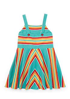 Ralph Lauren Childrenswear Stripe Dress Toddler Girls