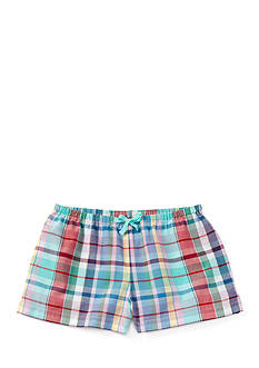 Ralph Lauren Childrenswear Plaid Short Toddler Girl