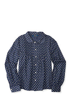 Ralph Lauren Childrenswear Floral Shirt Toddler Girl