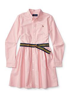 Ralph Lauren Childrenswear Oxford Dress Toddler Girl