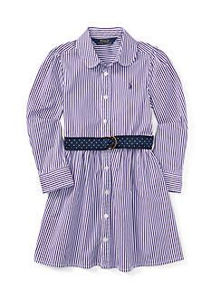 Ralph Lauren Childrenswear Striped Bengal Dress Toddler Girl