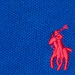 Toddler T-shirts: Deep Royal Ralph Lauren Childrenswear Stretch Mesh Polo Top - Toddler Girl