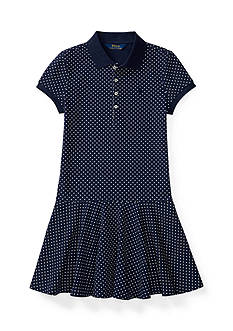 Ralph Lauren Childrenswear Polka Dot Dress Toddler Girls