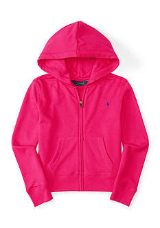 Ralph Lauren Childrenswear Full-Zip Hoodie Toddler Girls