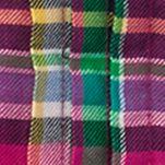 Ralph Lauren Girls: Pink/Green Multi Ralph Lauren Childrenswear Featherweight Twill Shirt - Toddler Girl