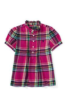 Ralph Lauren Childrenswear Featherweight Twill Shirt - Toddler Girl