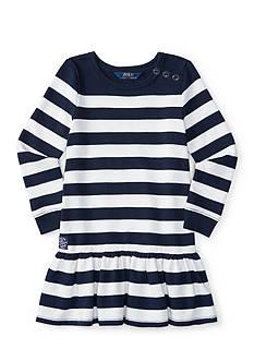 Ralph Lauren Childrenswear Striped Dress Toddler Girls