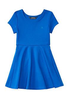 Ralph Lauren Childrenswear Ponte Dress Toddler Girls