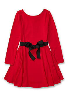 Ralph Lauren Childrenswear Long Sleeve Knit Dress Toddler Girls