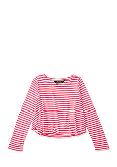 Ralph Lauren Childrenswear Striped Jersey Swing Tee Toddler Girls